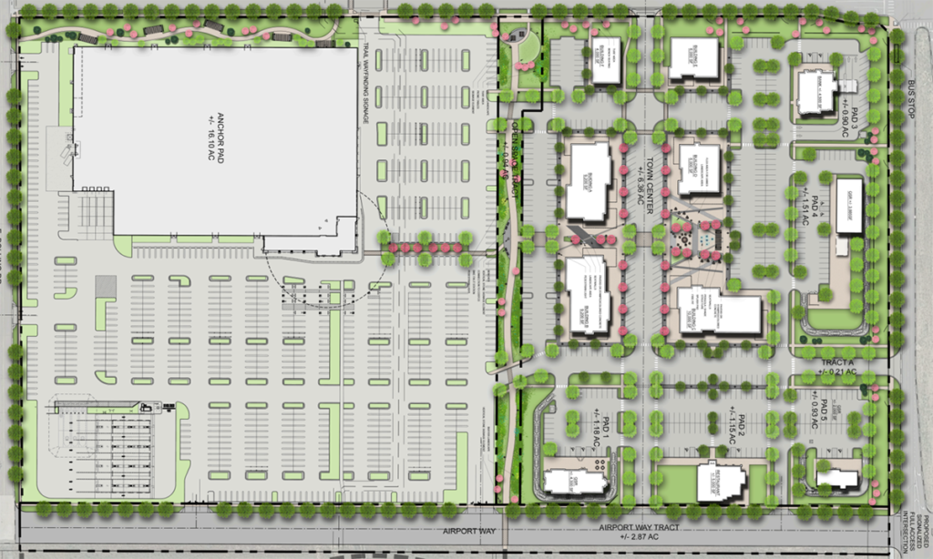 The Flyway Retail Center Slated for Fall 2022 Opening